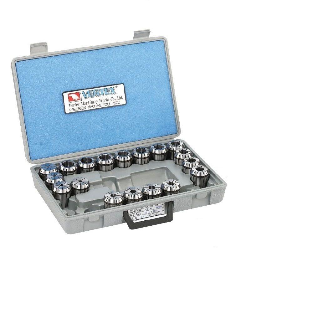 Collets Set ER40 (Model Number V-40008)