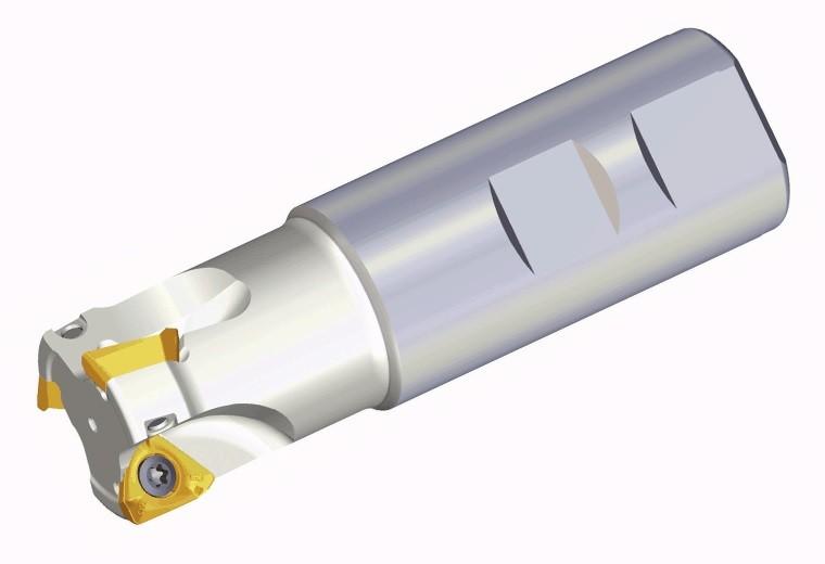 End Mill Holder (Model Number 3P TE90-220-19-10-L170)